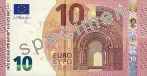 La Banca d'Italia presenta ogni martedì il nuovo biglietto da 10 euro