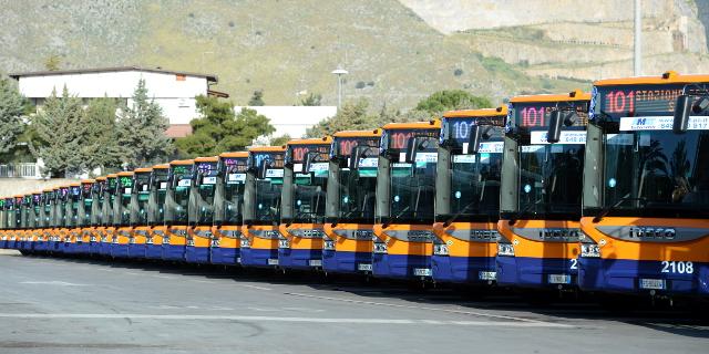 38 nuovi bus per l'Amat
