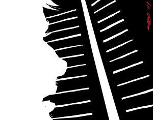 Muore di luce chi si ciba del buio (illustrazione di Giuseppe Lo Bocchiaro)