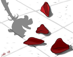 Rime, baciate (illustrazione di Giuseppe Lo Bocchiaro)