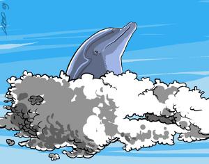 Nuvole (illustrazione di Giuseppe Lo Bocchiaro)