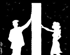Muro (illustrazione di Giuseppe Lo Bocchiaro)