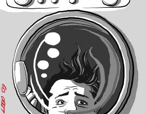 Centrifuga (illustrazione di Giuseppe Lo Bocchiaro)