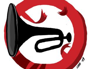 Trombe (illustrazione di Giuseppe Lo Bocchiaro)