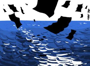 Soldi neri (illustrazione di Giuseppe Lo Bocchiaro)