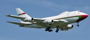 Boeing 747SP-27 del sultano dell'Oman