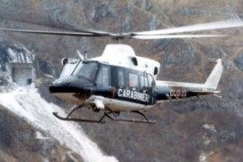 Agusta-Bell AB 412 in dotazione ai Carabinieri