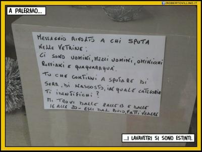 A Palermo...