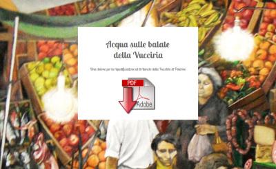 """""""Acqua sulle balate della Vucciria"""""""