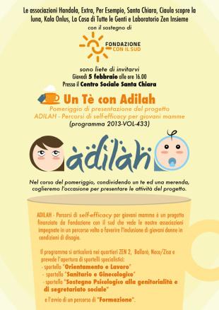 """""""Adilah"""", sportelli e percorso formativo per giovani mamme"""