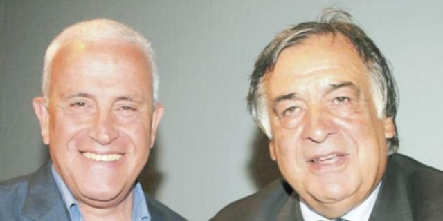 Roberto Alajmo e Leoluca Orlando