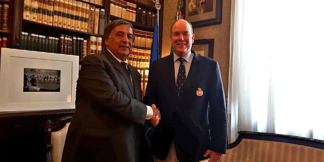 Cittadinanza onoraria al principe Alberto di Monaco