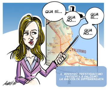 Raccolta differenziata a Palermo