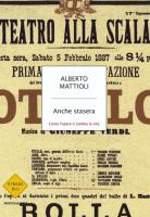"""Alberto Mattioli - """"Anche stasera"""""""
