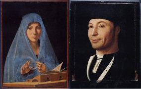 """Antonello da Messina - """"Annunziata"""" e """"Ritratto d'uomo"""""""