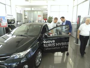 Auto ibrida per il sindaco di Ventimiglia di Sicilia