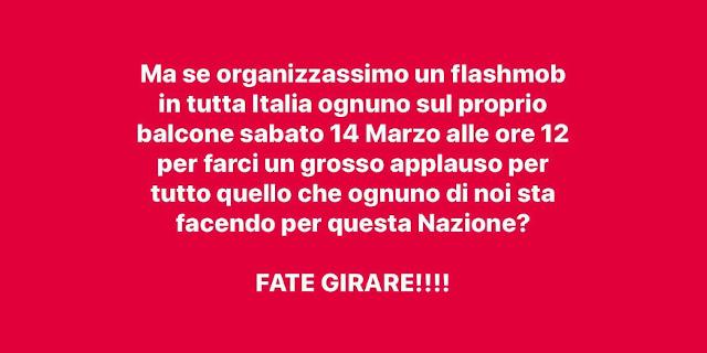 """Applauso alle 12 anche a Palermo, è il flash mob """"Applaudiamo l'Italia"""""""