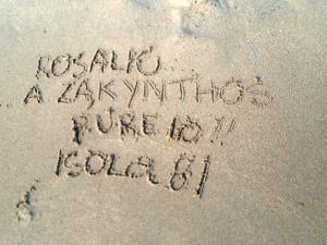 A Zakynthos (Grecia) pure io!