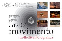 """""""Arte del movimento"""""""