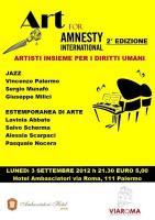 """""""Art for Amnesty"""""""