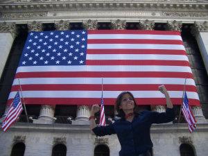 Barbara e le bandiere