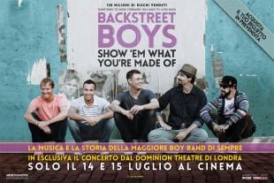"""""""Backstreet Boys show 'em what you're made of"""""""