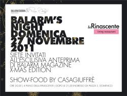 """""""Balarm's night"""" con Peppe Giuffrè a la Rinascente"""