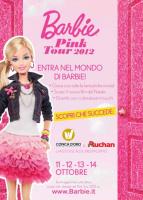 """""""Barbie Pink Tour"""" al Centro commerciale Conca d'Oro"""