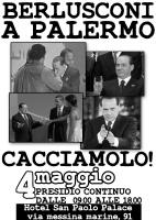 Berlusconi oggi a Palermo, annunciato presidio