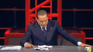 """Berlusconi su Dell'Utri da Santoro: """"Il difetto è essere nato a Palermo"""""""
