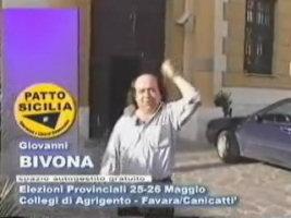 Video elettorale di Giovanni Bivona