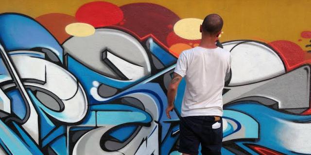 A Mondello i writer hanno realizzato nuovi graffiti in via Mongibello