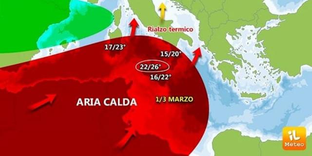 Buran sta per passare, da giovedì quasi 20 gradi a Palermo