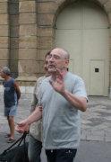 Luigi Maria Burruano lascia il carcere dell'Ucciardione