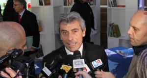 Diego Cammarata alla conferenza stampa di fine 2010