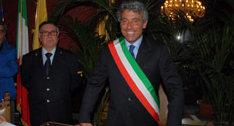 Diego Cammarata giura per il secondo mandato