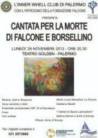 """""""Cantata per la morte di Falcone e Borsellino"""""""
