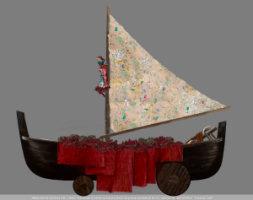 Carro trionfale di Jannis Kounellis