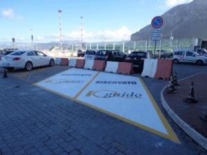 Parcheggio Car sharing all'aeroporto di Palermo