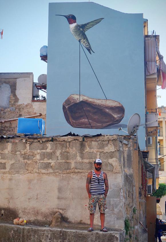 Cinque nuovi murales a Ballarò