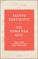 """Fausto Bertinotti - """"Chi comanda qui?"""""""