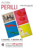 "Achille Perilli - ""Cinquanta duemila"""