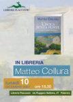 Matteo Collura alla libreria Flaccovio