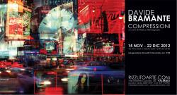 """Davide Bramante - """"Compressioni"""""""
