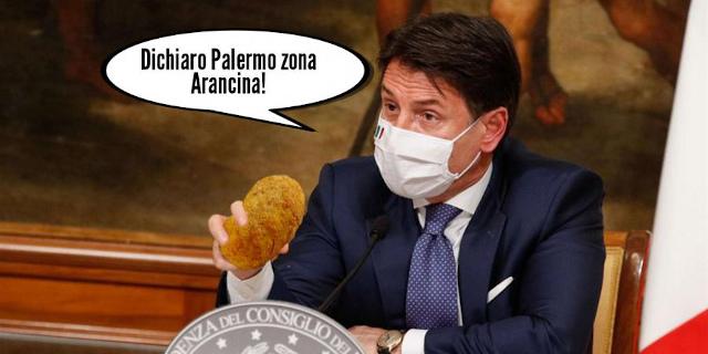 """Zona arancina a Palermo, il """"DPCM"""" di Santa Lucia"""