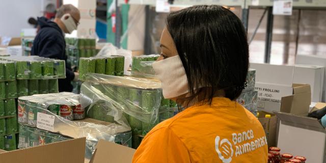 Coronavirus, supporto per la spesa delle famiglie di Palermo in difficoltà