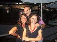 Maria Cubito, Manlio Noto e Stefania Blandeburgo