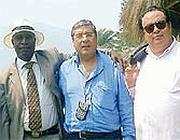 Eugene Diomi Ndongala, Totò Cuffaro e Mirello Crisafulli in Congo