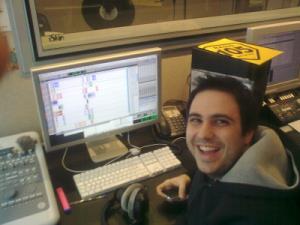 Dario Spada a Radio 105