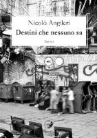"""Nicolò Angileri - """"Destini che nessuno sa"""""""